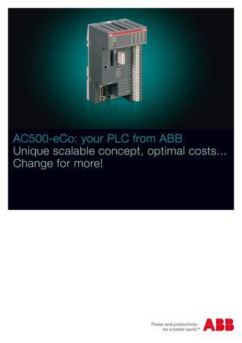 ABB AC500-eCo 产品简介(英文)