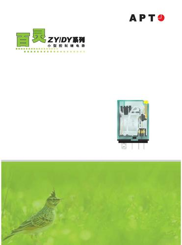APT ZY/DY小型继电器