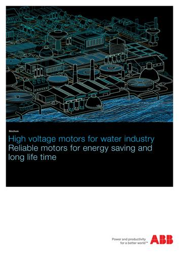 用于水处理的ABB高压电动机(英文介绍)