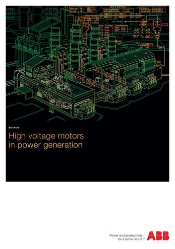 用于电力行业的ABB高压电机(英文介绍)