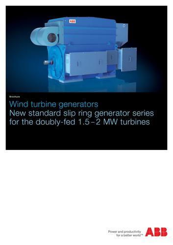ABB风力发电机 风力涡轮发电机(英文介绍)