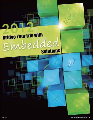 安勤 2012年新版产品型录Catalog-Embedded Platform
