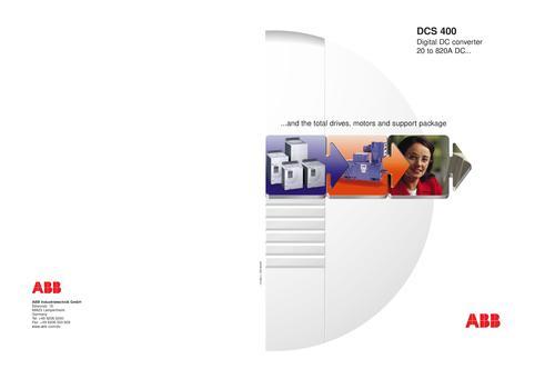 ABB DCS400 销售样本