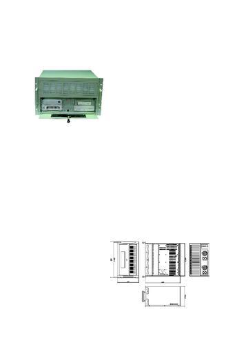 艾雷斯 ACS-2622/P/ATX 6U20槽工业级机箱产品说明书