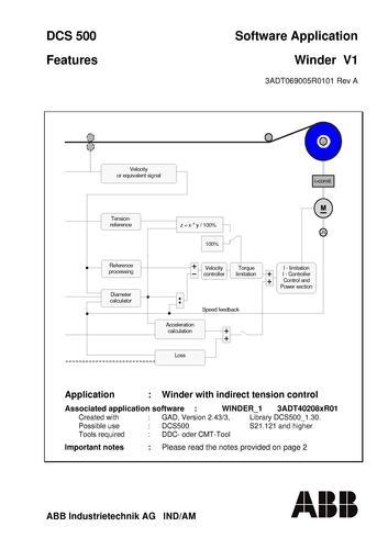 ABB DCS500B 卷取宏软件手册